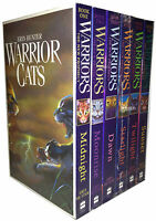 Warrior Cats Collection Erin Hunter 6 Books Set Pack The New Prophecy