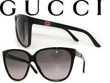Gucci GG 3539/s Black Sunglasses With Cover Pouch Bag