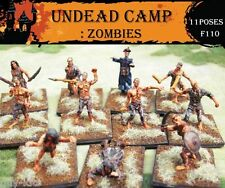 40 Figurines CAMP DE ZOMBIES, CAESAR Miniatures n° F110
