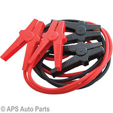 New Heavy Duty 500 Amp Battery Booster Cable Car Van Truck Jump Leads Start