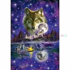 Wolf in the Moonlight: Schmidt Premium Quality Jigsaw Puzzle 1000 pieces  58233