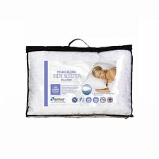 Micro Blend Side Sleeper Pillow with Cotton Cover  -  MADE IN AUSTRALIA