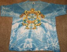 ELTON JOHN World Tour 1992-93 - Gianni Versace BLUE TIE-DYE XL Tee shirt VINTAGE