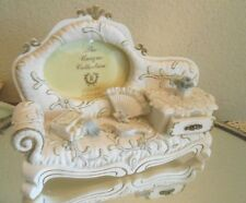 Photo Frame White French cottage Shabby Chic picture Fancy Victorian Sofa Gift