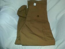 Carhartt New Dungaree Fit Work Pants Duck Brown,  Size 40x28