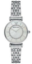 Emporio Armani Women's Watch Silver/Mother of Pearl AR1908