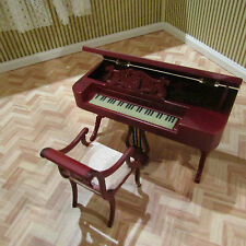 CASA di bambole Jiayi Regency Pianoforte Forte & Sedia SCALA 12th NUOVO