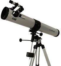Seben Zoom Telescopio Riflettore 900-76 EQ2 Big Pack KT5