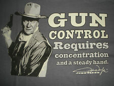 """JOHN WAYNE GUN CONTROL..."""" REQUIRES CONCENTRATION AND A STEADY HAND """" WESTERN 3X"""