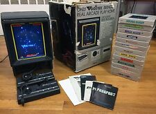 Vectrex Game System, Original Box w/ 14 Complete Games & 2  Controllers, Tested!