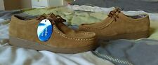 Para Hombre Beckett Wallabee Mocasines uk6 BNWOT