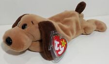 "TY Beanie Babies ""BONES"" the Tan & Brown Hound DOG - MWMT! CHECK OUT MY BEANIES!"
