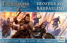 Northstar & Osprey Frostgrave: Barbarians Multi-part hard plastic 28 mm (20) New