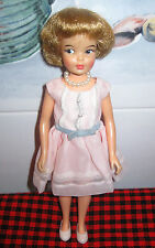 Vintage PEPPER DOLLwith Original Dress*MINT*Shoes,Pearl Choker+Bag~FREE SHIPPING