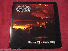 """ORDER FROM CHAOS Plateau Of Invincibility 10"""" Red wax Ares Kingdom Vulpecula"""
