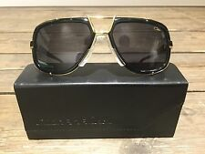 New Cazal sunglasses 656/3 Col. 1 Legends Black/Gold