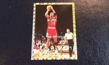 MICHAEL JORDAN National Promo Gold Border Retirement Jump Shot Oddball