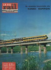 la vie du rail N°829 reseau japonais kinki nippon 1962