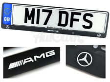 Mercedes-Benz /////AMG A B C E Class UK Standart License Frames Plates NEW 1pcs
