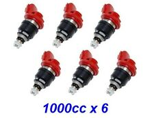 6x 1000cc Fuel Injectors for NISSAN / NISMO SKYLINE R33 GTS-T RB25DET JECS E85