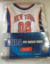 XS Pet Mesh Tank Jersey Shirt NBA New York Knicks Basketball Dog Cats Costume