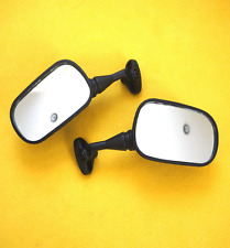 2002-2003 HONDA CBR 954RR CBR954RR BLACK REAR VIEW SIDE MIRROR MIRRORS PAIR NEW