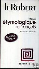 Dictionnaire étymologique du français, Jacqueline Picoche