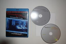Paranormal Activity (Blu-ray Disc, 2009, 2-Disc Set, Includes Digital Copy)