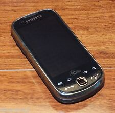 Samsung Intercept SPH-M910 - Steel Gray (Virgin Mobile) CDMA Smartphone w/ Power