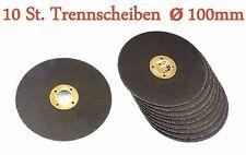 10 x Trennscheiben Ø 100 x 1,6mm fur Akkuwinkelschleifer  Winkelschleifer