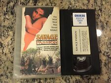 SAVAGE PASSION UNRATED RARE OOP VHS! NOT ON DVD 1995 WESTERN DRAMA EROTIC SLEAZE