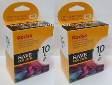 Kodak Color Ink Inkjet Cartridge TWIN PACK 10 10C New In Box 8946501 OEM