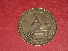 [Coll.J. DOMARD SPORT] MEDAILLE 10,5cm FRANCE GYM SEOUL 1988 Olympic Games NOC