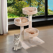 "PawHut 18"" Cat Tree Tower Condo Furniture Kitty Pet Play Toy Teaser Pet"