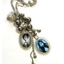 Art Tim Burton * corpse bride *  necklace