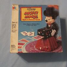 1986 Milton Bradley Disney Mickey Mouse Spin-A-Round Game Used
