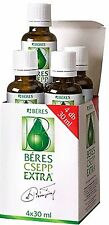 Béres Csepp Drops Extra  tropfen 4*30 ml Making People healthier avoid illness