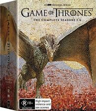 Game Of Thrones : Season 1 2 3 4 5 6 (DVD, 30-Disc Set) NEW