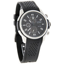 Citizen Eco-Drive AR 2.0 Chronograph Rubber Strap Men's Sport Watch CA0420-07E