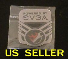 POWERED BY EVGA Sticker For PC Case Badge    25 x 28mm
