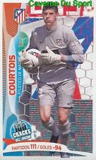 020 COURTOIS BELGIQUE ATLETICO STICKER 100 CRACKS DEL JUGON 2005-2014 PANINI