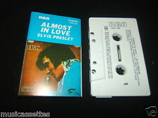ELVIS PRESLEY ALMOST IN LOVE 2ND PRESS AUSTRALIAN CASSETTE TAPE