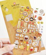 Breakfast Planner Food Deco Sticker Cute Paper Sticker DIY Scrapbook Kids Gift