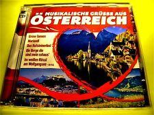 MUSIKALISCHE GRÜSSE AUS ÖSTERREICH | 2 CDs OVP | Volksmusik Shop 111austria