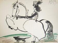 Pablo Picasso Toros y Toreros Cavaliere 10.3.59 XI