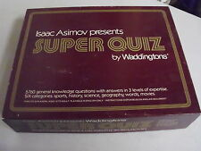WADDINGTONS SUPER QUIZ BOARD GAME REPLACEMENT PIECES ONLY