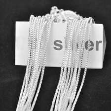 5PCS Wholesale Fashion Jewelry Vinece Box Necklace Chains For Pendant 22 Inches