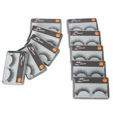 10Pair Black Reusable False Eyelashes Glue Adhesives Eye Lashes Makeup Beauty LW