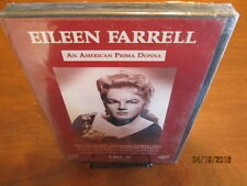 Eileen Farrell An American Prima Donna DVD Brand New Factory Sealed CBC 1968