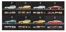 Mustang Fifty Years 50th Anniversary 8.5x11 Hero Spec Collector Cards - Set of 8